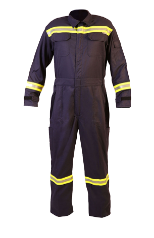 04M-4903 - HEAT AND FLAME PROTECTIVE COVERALL