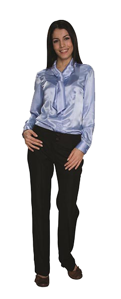 11W-5021 - WOMEN SATIN SHIRT